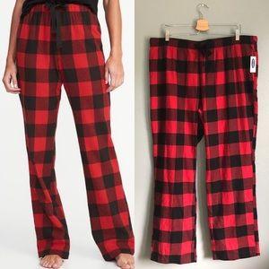NWT Old Navy Plaid Flannel Pajama Pants
